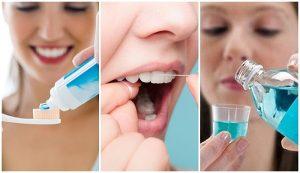 Vệ sinh răng miệng đúng cách, đi khám nha sĩ định kỳ 3-6 tháng/ lần khi bọc răng sứ